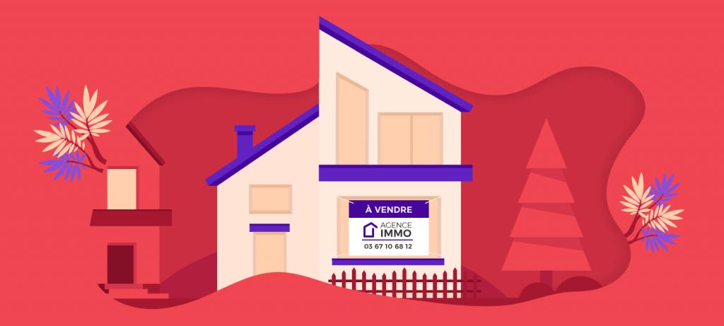 panneaux agence immobilière