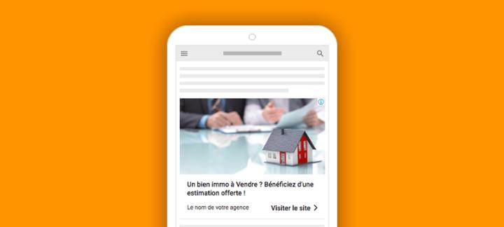 bannière google ads immobilier