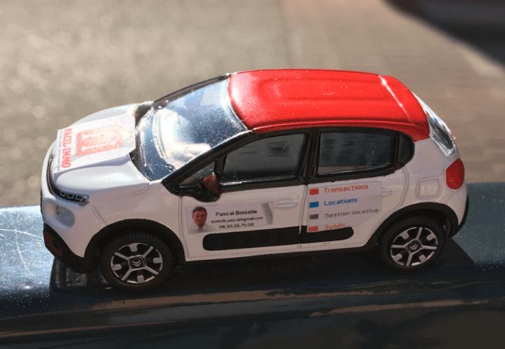 modele réduit véhicule personnalisé