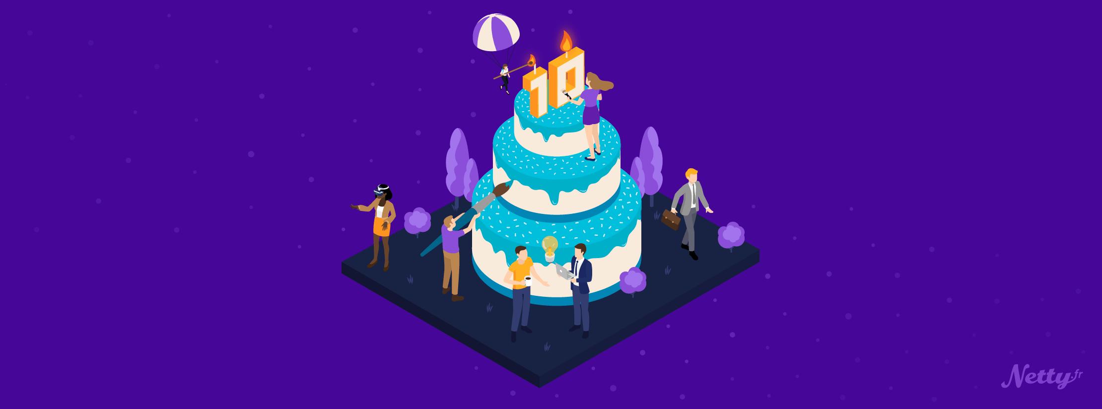 netty anniversaire B2B