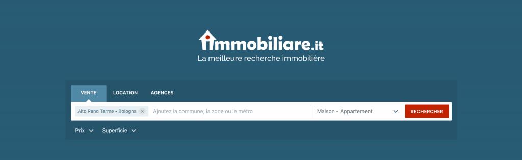 Immobiliare.it, portail immobilier italien