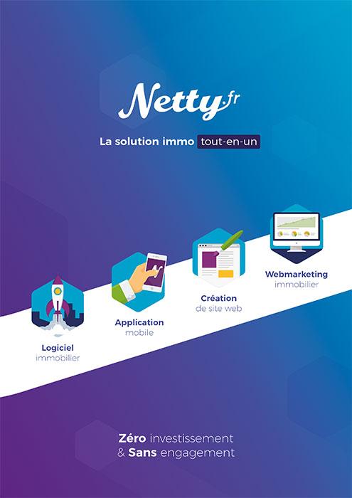 4cc1b923990c6c Création de site immobilier - Réalisation offerte   Netty