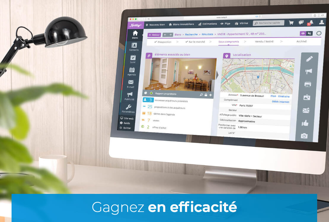 crm immobilier